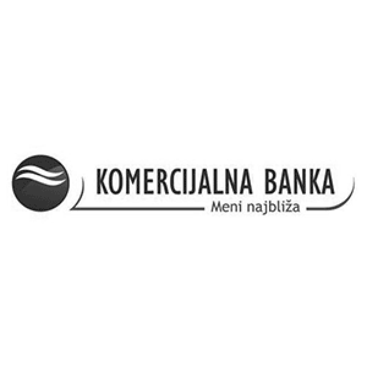 Bilbord za kompaniju Komercijalna banka