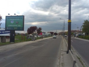 Bilbord Kragujevac KG-257