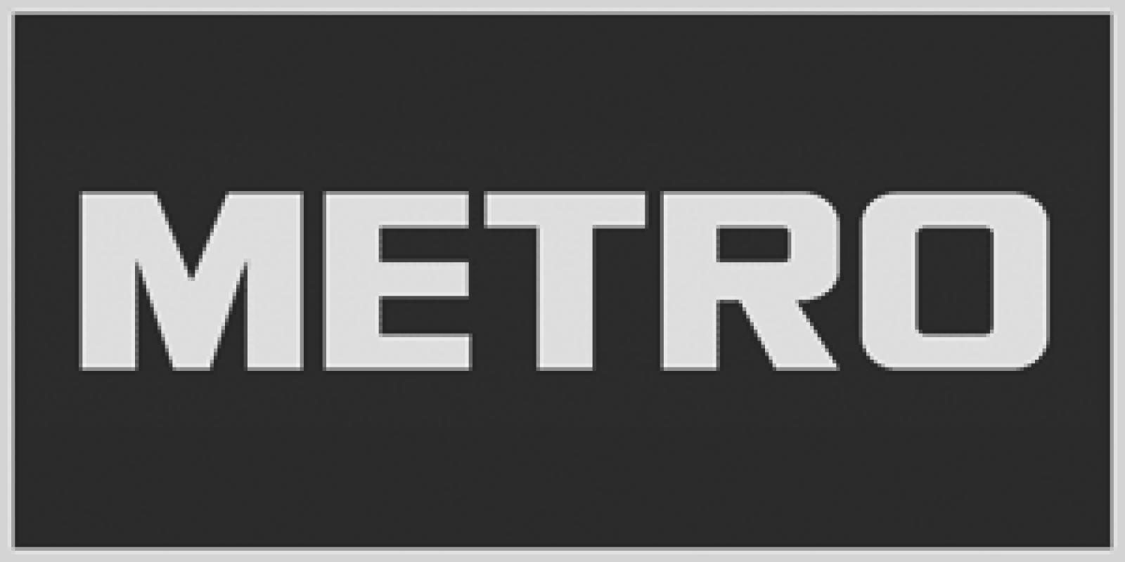 Bilbord za kompaniju Metro